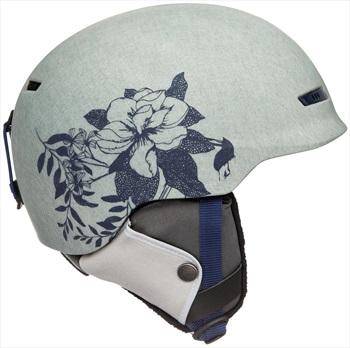 Roxy Angie Women's Ski/Snowboard Helmet, L Grey Botanical Flowers
