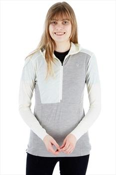 Norrona Women's Wool Thermal Hoodie UK 12 Pure Cashmere