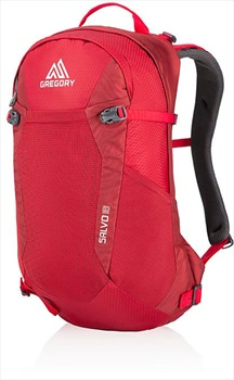 Gregory Salvo 18 Hiking Backpack Tango Red