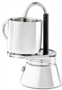 GSI Outdoors Mini Espresso Set 4 Shot Travel Espresso Maker, 295ml