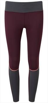 Tribe Sports Running Tight Women's Leggings, UK 10 Burgundy
