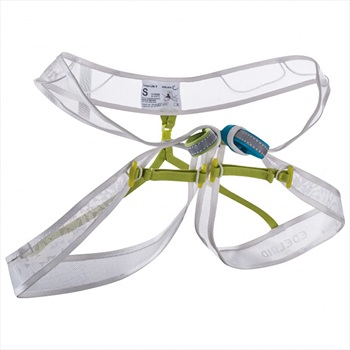 Edelrid Loopo Lite Lightweight Climbing Harness, L Snow