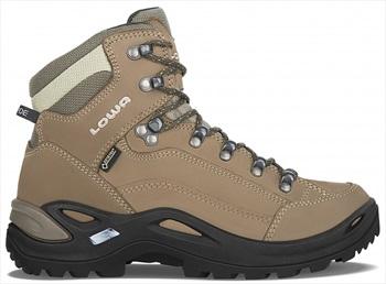 Lowa Womens Renegade Gore-Tex Mid Women's Hiking Boots, Uk 7 Pebble