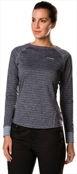 Berghaus Thermal Tech Crew Women's Long Sleeve T-Shirt, XL Carbon