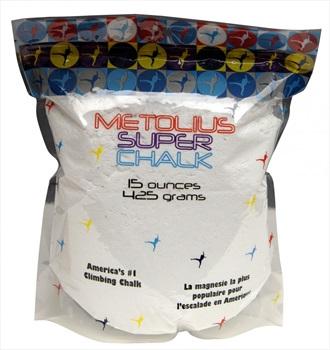 Metolius Super Chalk Rock Climbing Chalk, 425g, White