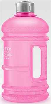 Phoenix Fitness Gym Hydration/Water Bottle, 1L Pink