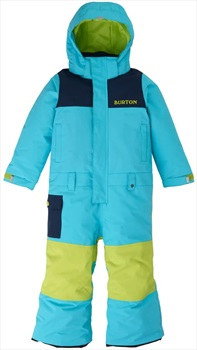 Burton MiniShred Striker Snow One Piece, 4T Blue Curacao