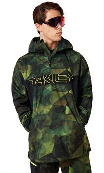 Oakley Black Forest 3L 15K Shell Ski/Snowboard Jacket, L Geo Camo