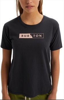 Burton Rewind Women's Short Sleeve T-Shirt, M Tue Black