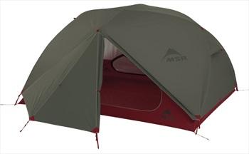MSR Elixir 3 V2 Tent Backpacking Shelter, 3 Man Green