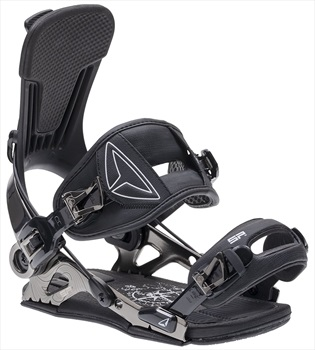 SP Adult Unisex SLAB.One Snowboard Bindings, L Black 2020