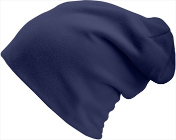 Manbi Long Turn Up Ski/Snowboard Beanie One Size Navy