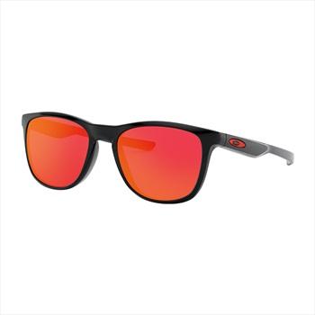 Oakley Trillbe X Ruby Iridium Sunglasses, Polished Black