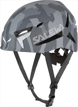 Salewa Adult Unisex Vega Rock Climbing Helmet, S/M Grey Camo