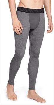 Under Armour ColdGear Leggings Men's Running Long Tights, XL Grey
