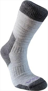 Bridgedale Explorer Heavyweight Women's Hiking Socks, L Grey