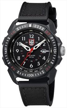 Luminox ICE-SAR Arctic 1000 Series Wrist Watch, Black/White
