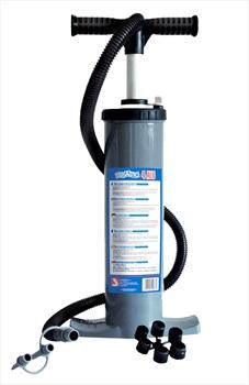 Bravo Kite Inflator Stirrup Pump, Double Blue 2021