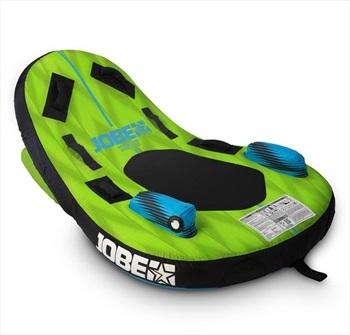 Jobe Sunray 2 Direction Towable Inflatable Tube, 1 Rider Grn Blck 2021