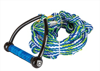 """O'Brien Pro Surf Wakesurf Rope and Handle, 9"""" Handle 25' Rope Blue"""