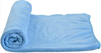 Care Plus Microfibre Towel Compact Travel Towel, Large Blue