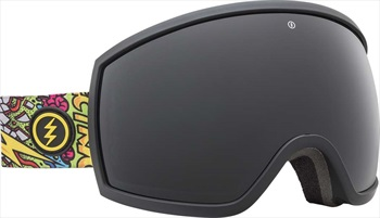 Electric Egg Jet Black Snowboard/Ski Goggles, L Jimbo Phillips