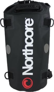 Northcore Dry Bag Shoulder Sling Roll Top Duffel, 40L Black