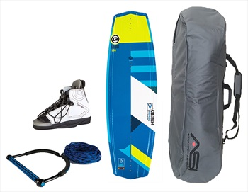 O'Brien Valhalla| Nova Deluxe Wakeboard Package For Her, 138|7-9