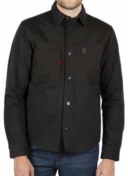 Topo Designs Dual Longsleeve Shirt, M Black