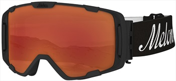 Melon Parker Red Chrome Sonar Snowboard/Ski Goggle, M/L Black