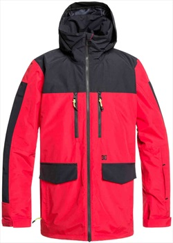 DC Company Ski/Snowboard Jacket, L Racing Red