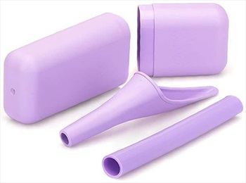 Shewee Extreme Compact Travel Urination System, Lilac