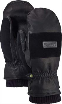 Burton Free Range Leather Ski/Snowboard Mitts, M All Black