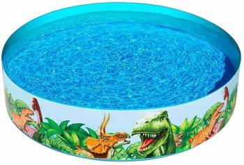 "Bestway Dinosaur Fill 'N' Fun Paddling Pool, 72"" x 15"" Dinosaur"
