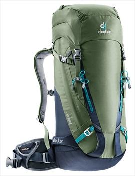 deuter Adult Unisex Guide 35+ Hiking/Climbing Backpack 35L+ Khaki-navy