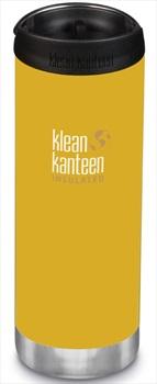Klean Kanteen Insulated TKWide Cafe Cap Water Bottle, 473ml Yellow