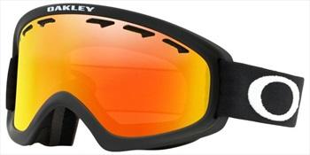 Oakley Adult Unisex O Frame 2.0 Pro Xs Matte Black, Fire Snowboard/Ski Goggles, Xs/S