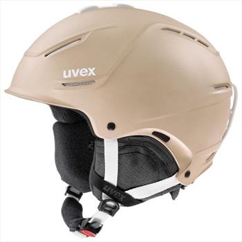 UVEX Adult Unisex P1us 2.0 Ski/Snowboard Helmet, S Prosecco Met Mat
