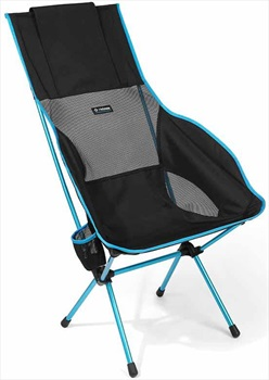 Helinox Savanna Chair Deluxe Camp Chair, Black