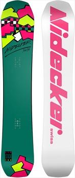 Nidecker Lip Stick Classic Positive Camber Snowboard, 156cm 2021