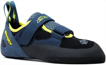 Evolv Defy VTR Rock Climbing Shoe, UK 7.5 | EU 41.5 Black/Sulphur