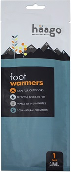 Haago Disposable Recyclable Foot Warmer Insoles, L