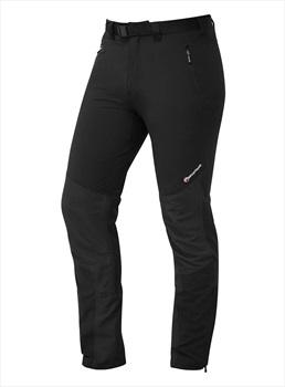 Montane Alpine Stretch Softshell Climbing Trousers, S Black