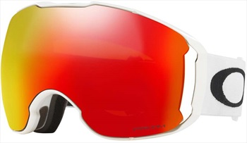 Oakley Airbrake XL Prizm Torch Snowboard/Ski Goggles, L Polished Wh