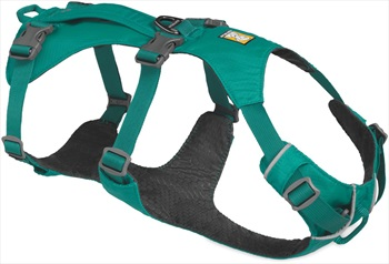 Ruffwear Flagline Dog Harness Lightweight Pet Harness, Medium Teal