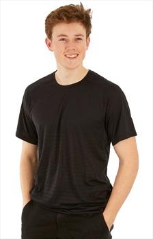 Mountain Hardwear MHW VNT Short Sleeve Shirt, S Black