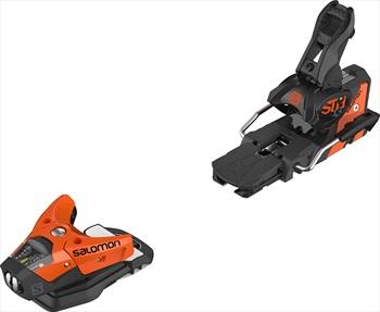 Salomon STH2 13 WTR Ski Bindings, 100mm Orange/Black