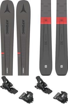 Atomic Vantage 90 TI Skis 176cm, Grey/Red, Tyrolia Attack2 13 GW, 2021