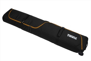Thule Roundtrip Snowboard Roller Double Board Bag Wheeled, 165cm Black Gold