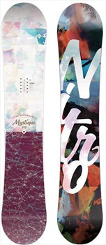 Nitro Mystique Women's Hybrid Camber Snowboard, 152cm 2020